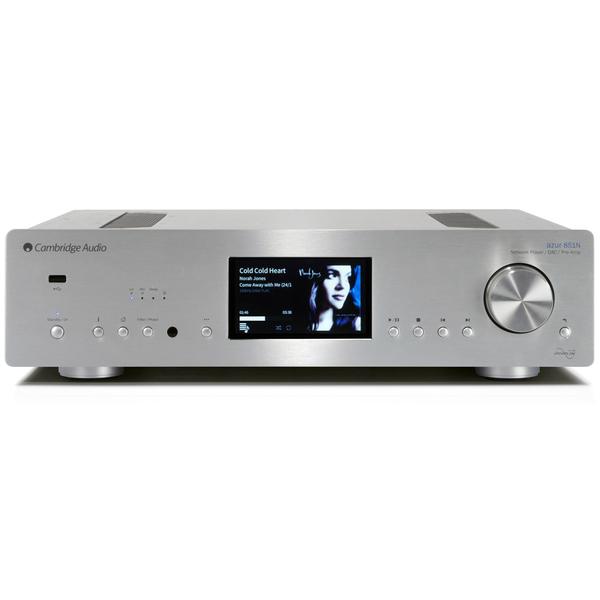 Сетевой проигрыватель Cambridge Audio Azur 851N Silver стереоусилитель cambridge audio azur 851a silver