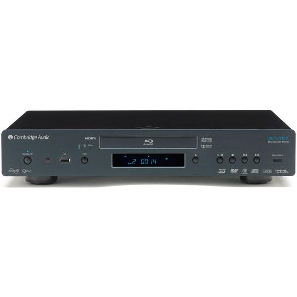 Blu-ray ������������� Cambridge Audio - Cambridge AudioBlu-ray �������������<br>Blu-ray �������������, 3D-�������������� Marvell Qdeo, ��� Wolfson WM8740, �����: 2 HDMI, Ethernet, ������������, ����������, 3 USB, ������: 2 HDMI, 7.1 RCA, �������� 430x85x312 ��, ��� 5 ��.<br>