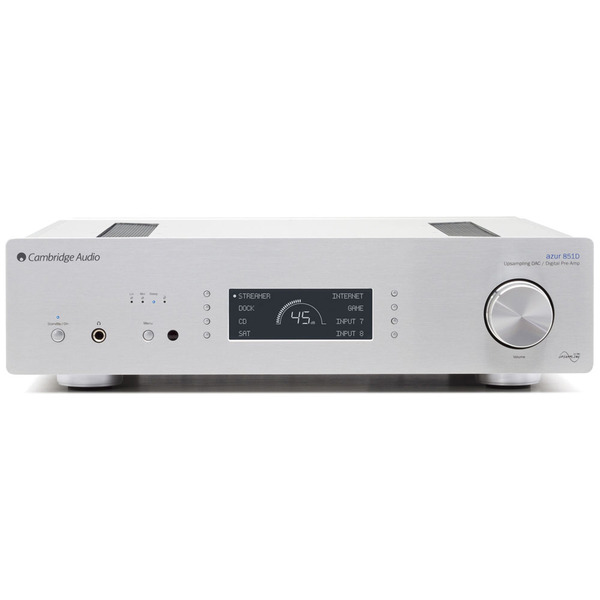 Внешний ЦАП Cambridge Audio Azur 851D Silver