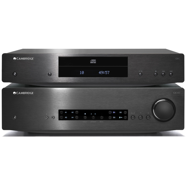 Стереоусилитель Cambridge Audio CXA 80 + CXC Black комплекты домашних кинотеатров pult ru 4 cambridge monitor audio
