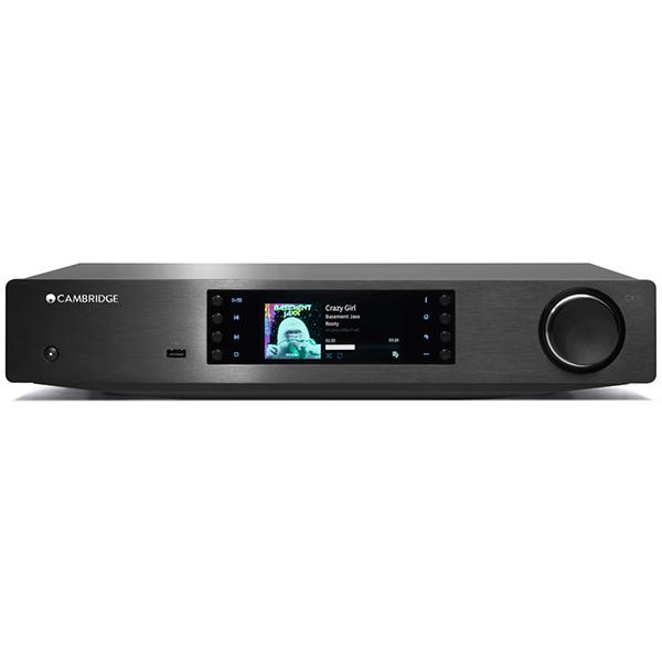 Сетевой проигрыватель Cambridge Audio CXN Black стереоусилитель cambridge audio cxa 80 cxn silver