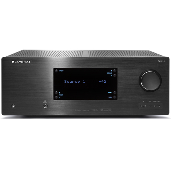 все цены на AV ресивер Cambridge Audio CXR 120 Black онлайн