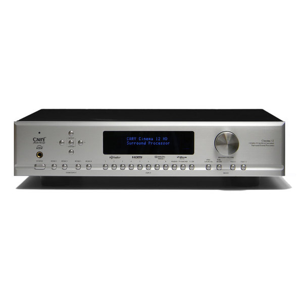 AV процессор Cary Audio Design Cinema 12 Silver внешний цап cary audio design dac 100t silver