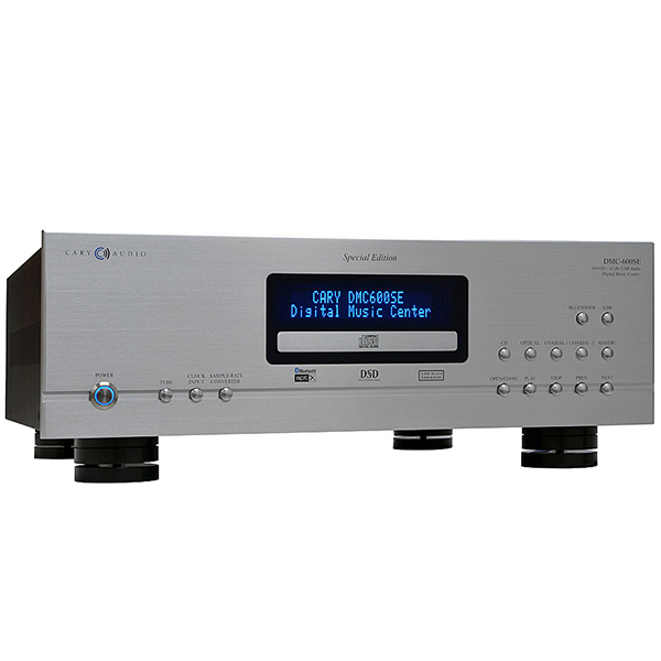 CD проигрыватель Cary Audio Design DMC 600 SE Silver внешний цап cary audio design dac 100t silver