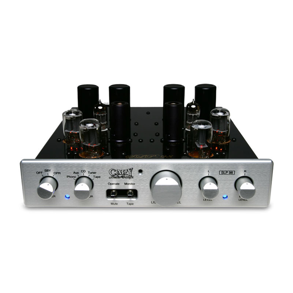 Ламповый предусилитель Cary Audio Design SLP 98L Silver изображение