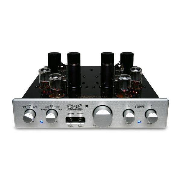 Ламповый предусилитель Cary Audio Design SLP 98P Silver изображение