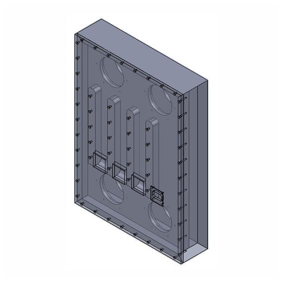 Встраиваемая акустика Ceratec Встраиваемый сабвуфер Cerasonar 6560 X4 Sub