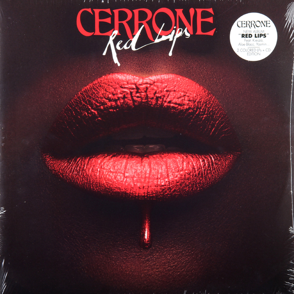 CERRONE CERRONE - RED LIPS (2 LP + CD)  цена