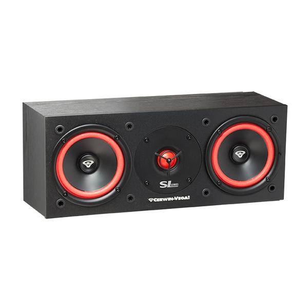 Центральный громкоговоритель Cerwin-Vega SL-25C Black акустика центрального канала paradigm studio cc 490 v 5 piano black