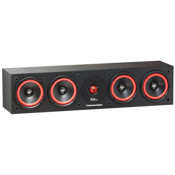 Центральный громкоговоритель Cerwin-Vega SL-45C Black акустика центрального канала paradigm prestige 45c piano black