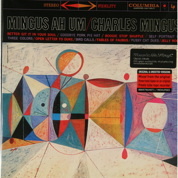 Charles Mingus Charles Mingus - Mingus Ah Um (180 Gr) guano apes guano apes proud like a god 180 gr colour