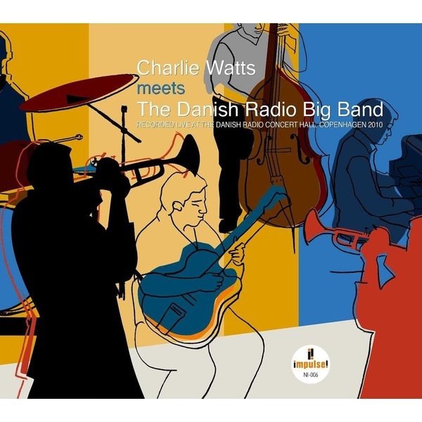 Charlie Watts Charlie Watts - Charlie Watts Meets The Danish Radio Big Band (2 LP) oil free bushings mpbz60 70 graphite copper sleeve solid inlay graphite self lubricating oil bearing