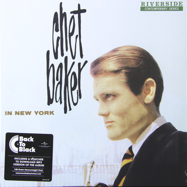 CHET BAKER CHET BAKER - CHET BAKER IN NEW YORK (180 GR)Виниловая пластинка<br><br>