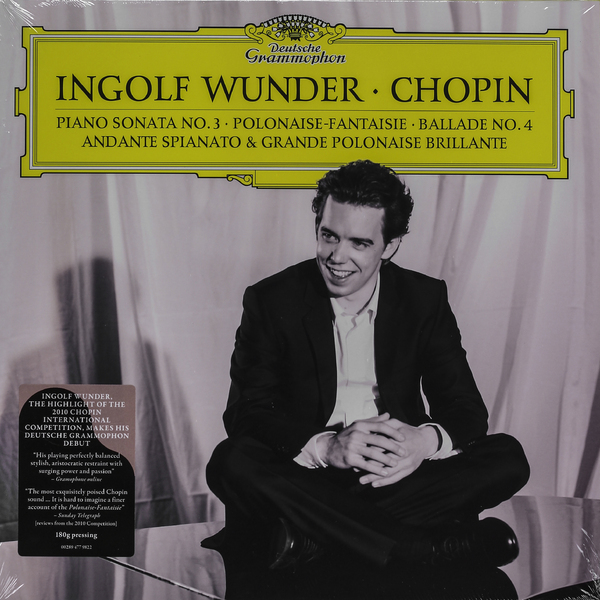 CHOPIN CHOPIN - RECITAL (2 LP, 180 GR)Виниловая пластинка<br><br>