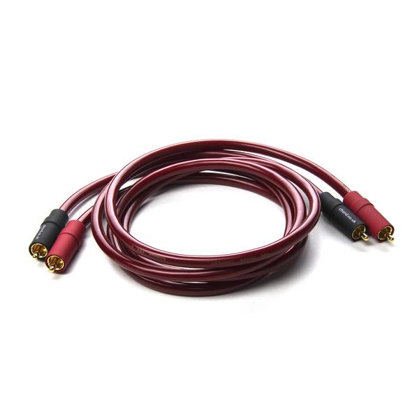 Кабель межблочный аналоговый RCA ChordКабель межблочный аналоговый RCA<br>Межблочный кабель, многожильная конфигурация, медь высокой степени очистки, двойное экранирование, диэлектрик: полиэтилен и ПВХ, длина 0,5, 1 м.<br>