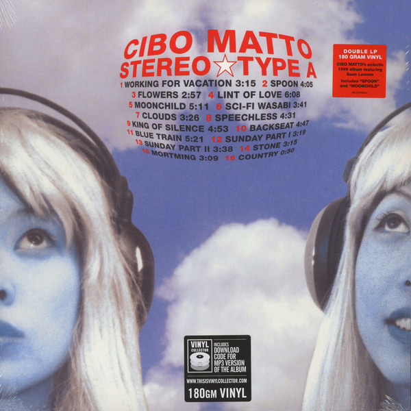 CIBO MATTO CIBO MATTO - STEREO TYPE A (2 LP, 180 GR) nagat abady adel el gendy and mohamed mokhtar synthesis of certain indole 2 carboxylate derivatives