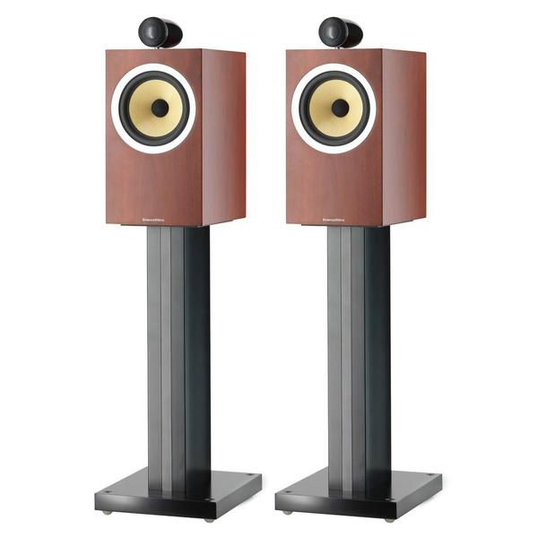 Полочная акустика B&amp;WПолочная акустика<br>Акустическая система полочного типа, 2 полосы, 2 динамика: ВЧ 25 мм, СЧ/НЧ 165 мм, фазоинвертор, импеданс 8 Ом, чувствительность 88 дБ, диапазон частот 50 Гц – 28 кГц, габариты 200 x 403 x 301 мм, вес 8,9 кг.<br>