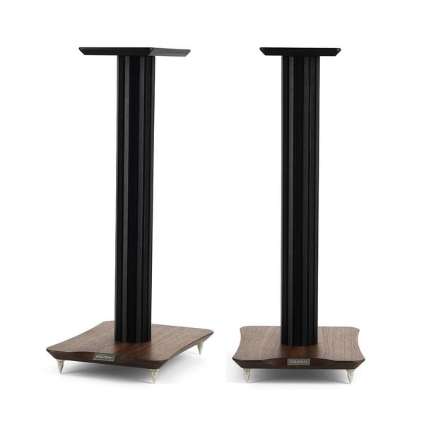 Стойка для акустики Cold Ray S6 Black Tube/Walnut стойка для акустики waterfall подставка под акустику shelf stands hurricane black