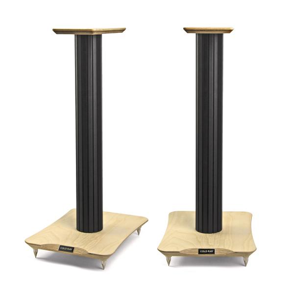 Стойка для акустики Cold RayСтойка для акустики<br>Стойка акустическая, высота 600 мм, верхняя площадка 130 х 240 мм.<br>