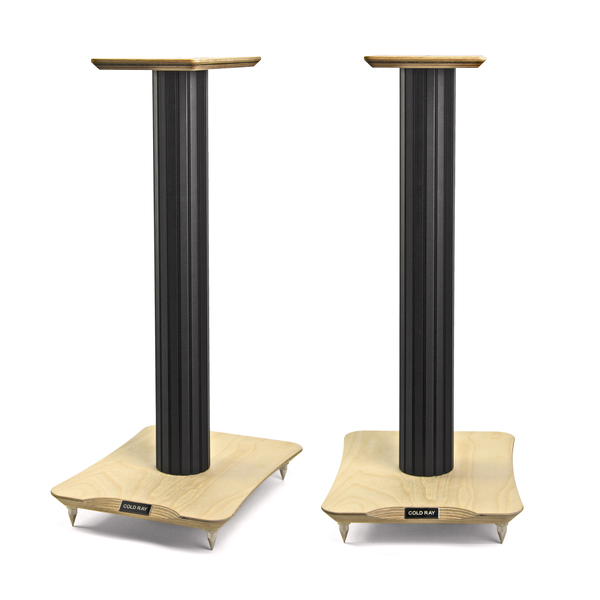 Стойка для акустики Cold Ray S6 Black Tube/Birch стойка для акустики waterfall подставка под акустику shelf stands hurricane black