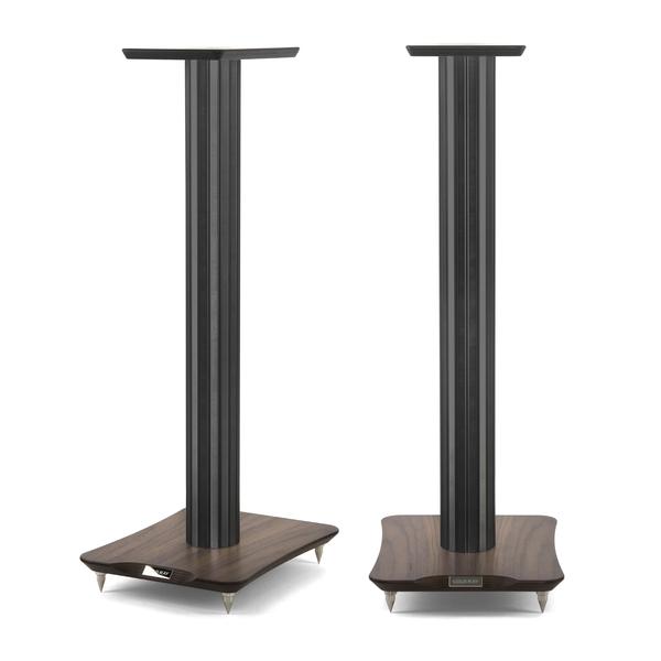 Стойка для акустики Cold Ray S7 Black Tube/Walnut стойка для акустики waterfall подставка под акустику shelf stands hurricane black