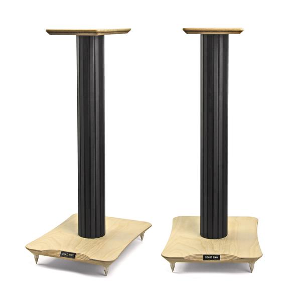 Стойка для акустики Cold Ray S7 Black Tube/Birch стойка для акустики waterfall подставка под акустику shelf stands hurricane black