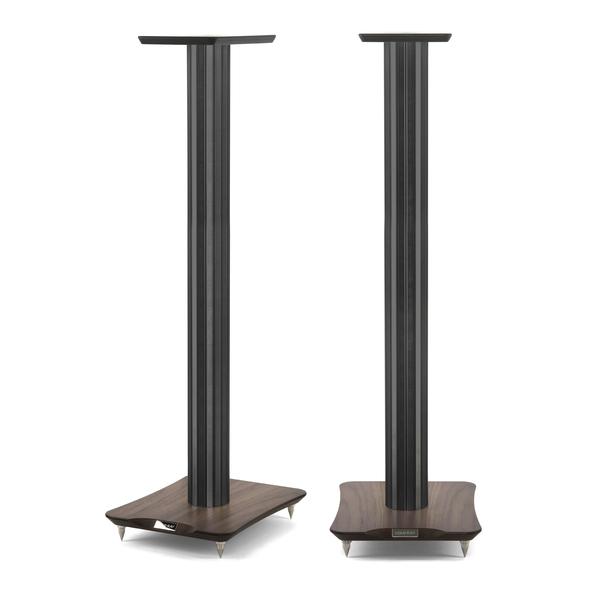 Стойка для акустики Cold Ray S9 SM Black Tube/Walnut стойка для акустики waterfall подставка под акустику shelf stands hurricane black