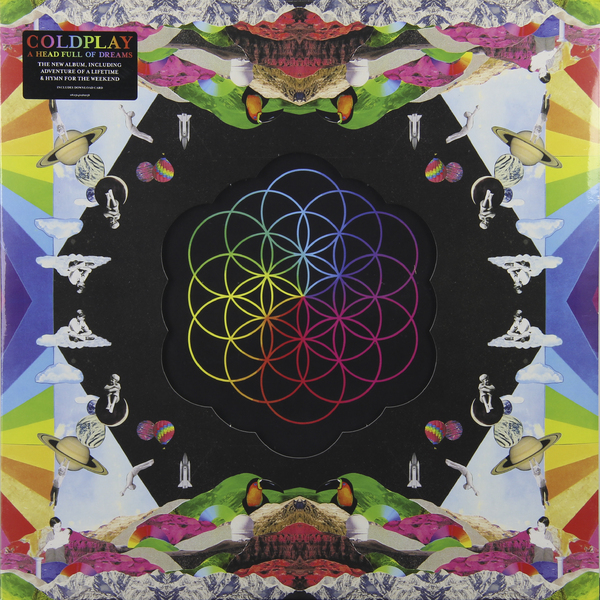 COLDPLAY COLDPLAY - A HEAD FULL OF DREAMS (2 LP) coldplay a head full of dreams cd