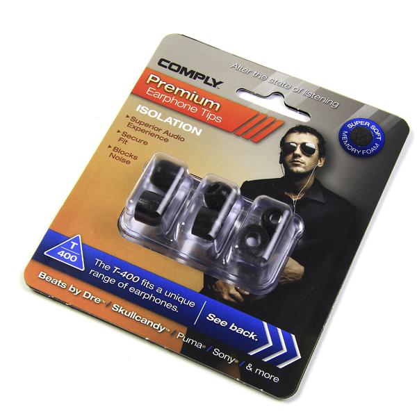 все цены на Амбушюры для наушников Comply T-400 M Black (3 пары) онлайн