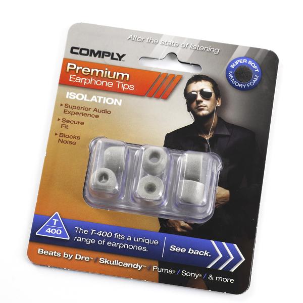 Амбушюры для наушников Comply T-400 L Grey (3 пары) амбушюры для наушников comply ts 400 blk l 3 пары
