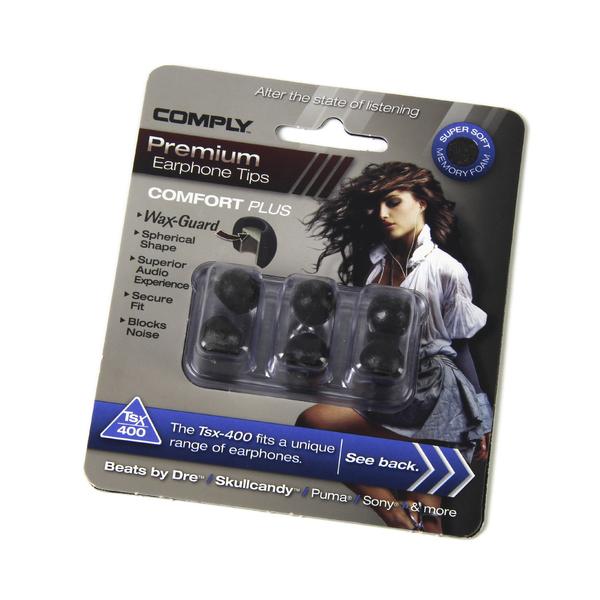 все цены на Амбушюры для наушников Comply TSX-400 BLK-M (3 пары) онлайн