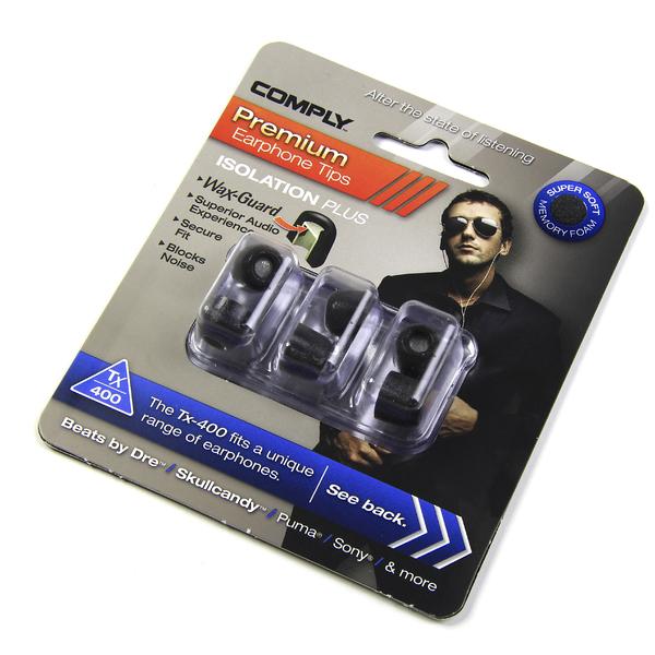 Амбушюры для наушников Comply TX-400 M Black (3 пары) амбушюры для наушников comply tx 400 s black 3 пары