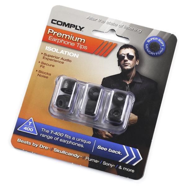 Амбушюры для наушников Comply TX-400 L Black (3 пары) амбушюры для наушников comply ts 400 blk l 3 пары