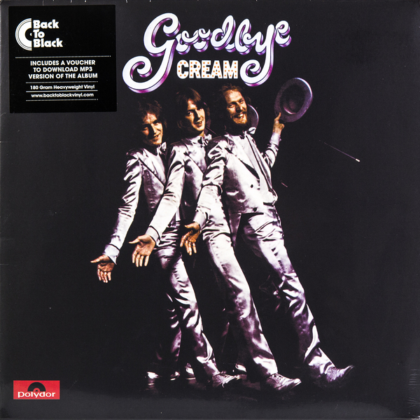 CREAM CREAM - Goodbye (180 Gr) guano apes guano apes proud like a god 180 gr colour