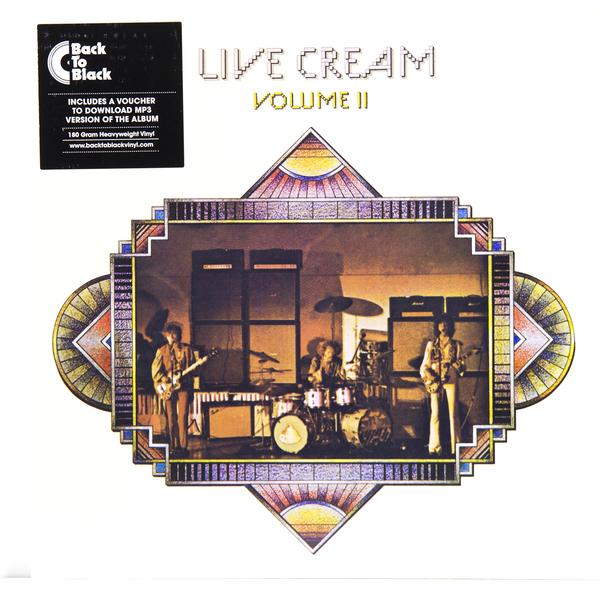 CREAM CREAM - LIVE CREAM 2 (180 GR)Виниловая пластинка<br><br>