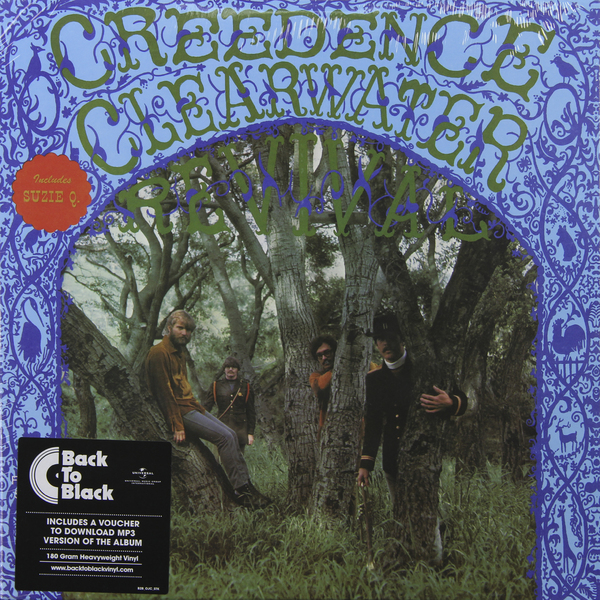 CREEDENCE CLEARWATER REVIVAL CREEDENCE CLEARWATER REVIVAL - CREEDENCE CLEARWATER REVIVAL (180 GR) вешала clearwater home