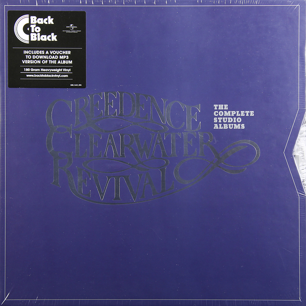 CREEDENCE CLEARWATER REVIVAL CREEDENCE CLEARWATER REVIVAL - THE COMPLETE STUDIO ALBUMS (7 LP, 180 GR) вешала clearwater home
