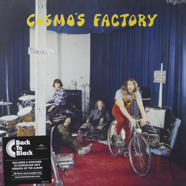 CREEDENCE CLEARWATER REVIVAL CREEDENCE CLEARWATER REVIVAL - COSMO'S FACTORY (180 GR) вешала clearwater home