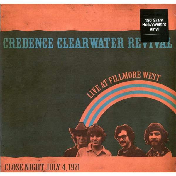 CREEDENCE CLEARWATER REVIVAL CREEDENCE CLEARWATER REVIVAL - LIVE AT FILLMORE WEST CLOSE NIGHT JULY 4/1971 вешала clearwater home