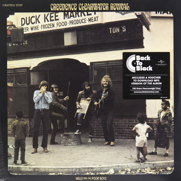 Creedence Clearwater Revival Creedence Clearwater Revival - Willi And The Poor Boys (180 Gr) акустическая система pioneer ts 1302i
