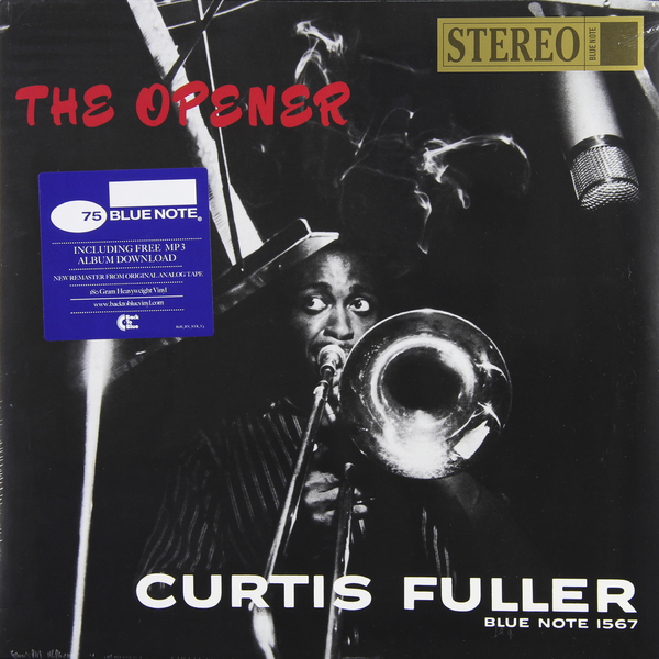 Curtis Fuller Curtis Fuller - The Opener (180 Gr) guano apes guano apes proud like a god 180 gr colour