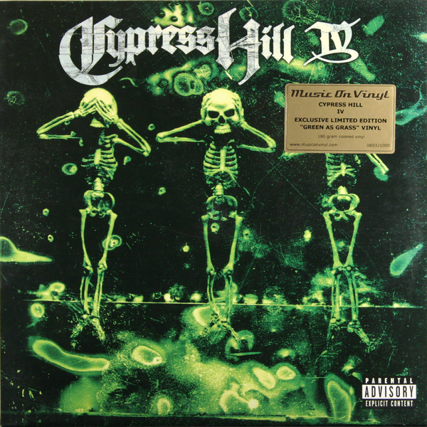 CYPRESS HILL CYPRESS HILL-IV (2 LP, 180 GR)Виниловая пластинка<br><br>
