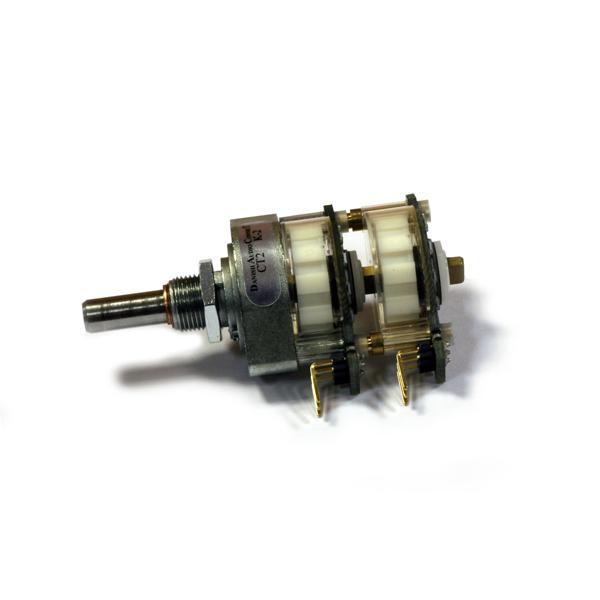 Потенциометр DACT CT2-50k-2 стерео (дискретный)  гидроаккумулятор 50 ct2