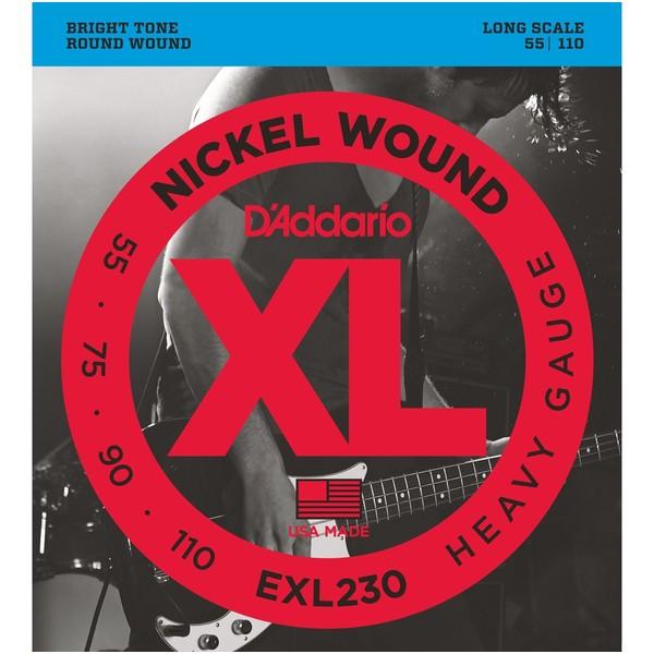 Гитарные струны D'Addario EXL230 (для бас-гитары)