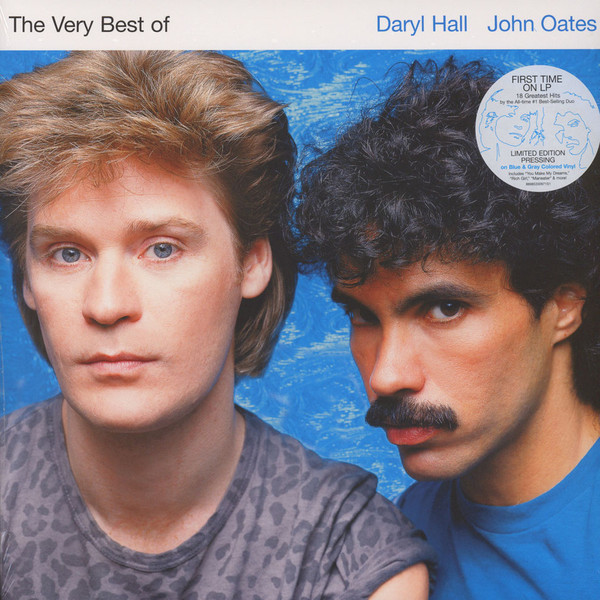 DARYL HALL   JOHN OATES DARYL HALL   JOHN OATES - THE VERY BEST OF DARYL HALL   JOHN OATES (2 LP) oates j the lost landscape a writter s coming of age