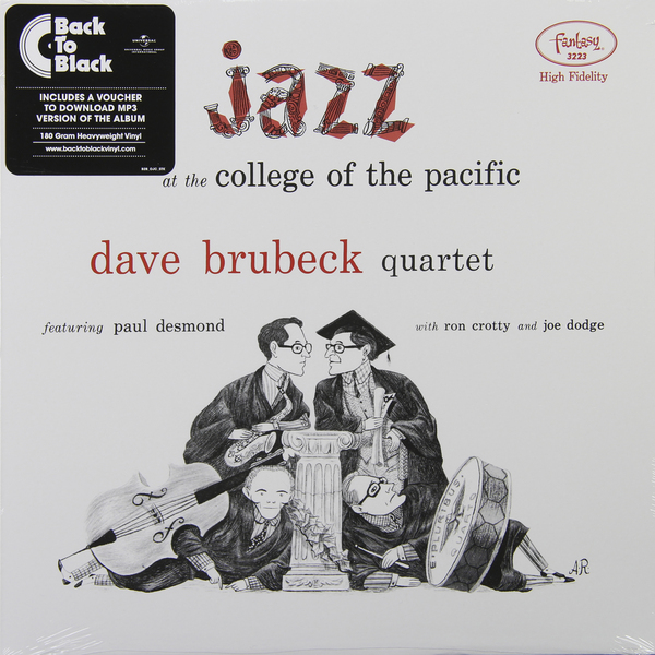 Dave Brubeck Dave Brubeck - Jazz At The College Of The Pacific (180 Gr) at the gates at the gates at war with reality 180 gr
