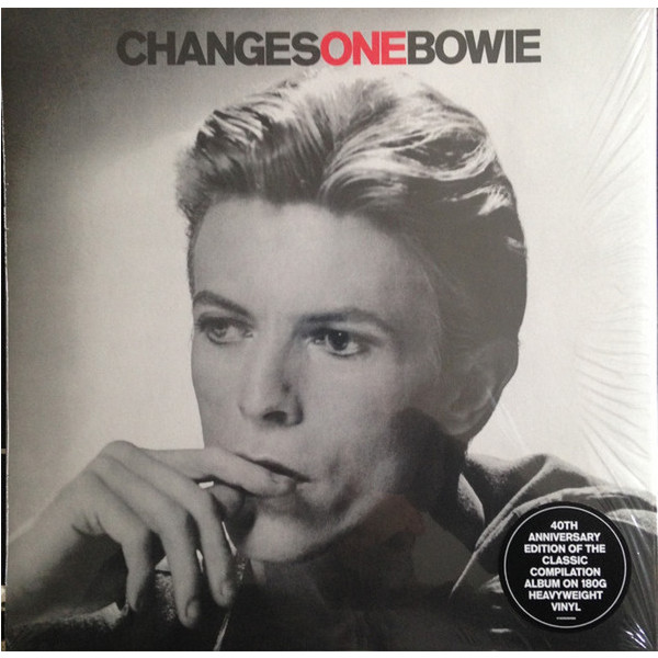 DAVID BOWIE DAVID BOWIE - CHANGESONEBOWIE (40TH ANNIVERSARY)
