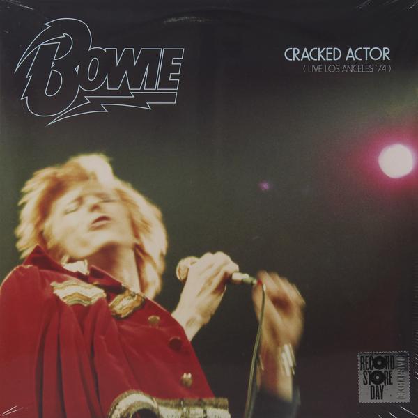 DAVID BOWIE DAVID BOWIE - CRACKED ACTOR (LIVE LOS ANGELES '74) (2 LP) dear bowie халат
