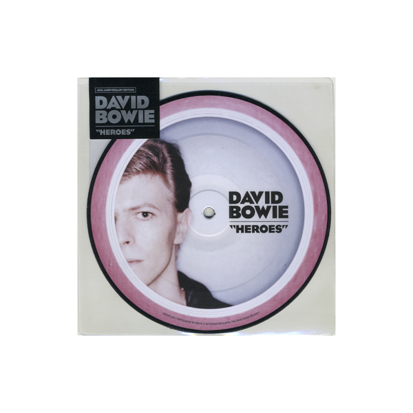 DAVID BOWIE DAVID BOWIE - HEROES (40TH ANNIVERSARY) (7 )