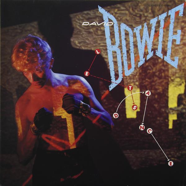 DAVID BOWIE DAVID BOWIE - LET'S DANCE (JAPAN ORIGINAL. 1ST PRESS) (винтаж)